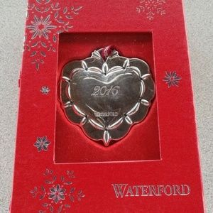 Waterford 2016 Our First Christmas Together Heart